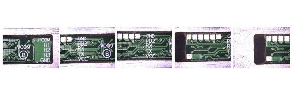 Составление панорамного изображения из пяти снимков